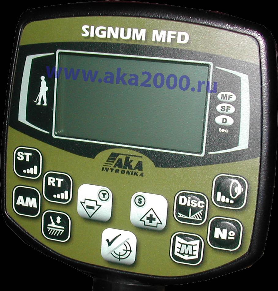 Дисплей металлоискателя АКА Сигнум MFD 7272М